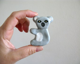 Koala - dresser drawer knob for kids room