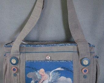 Diaper Bag, Baby Boy in Flight Original Design