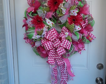Spring Fever Wreath