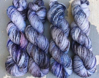 Space Station Blues: Hand Dyed Yarn for Knitters & Crocheters