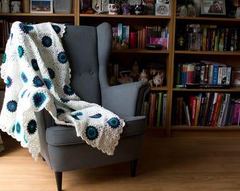 Starburst Granny Square Blanket