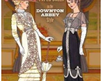Downton Abbey Inspired English Country Paper Dolls