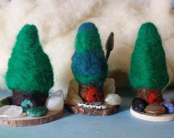 Gemstone Gnome Houses