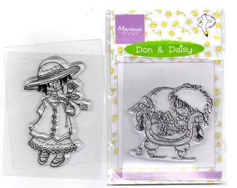 Various crystal gift and Daisy character stamps
