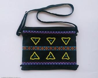 Suede  Crossbody Bag Tassel Crossbody Bag Bohemian Bag Boho Fashion Festival fashion Handmade Bag Suede Fringe