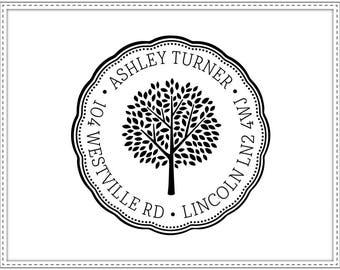 Return address stamp TREE