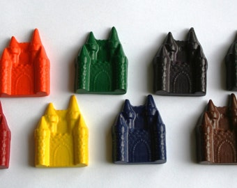 Castle Crayons - Set of 8 - Great for a Princess Party