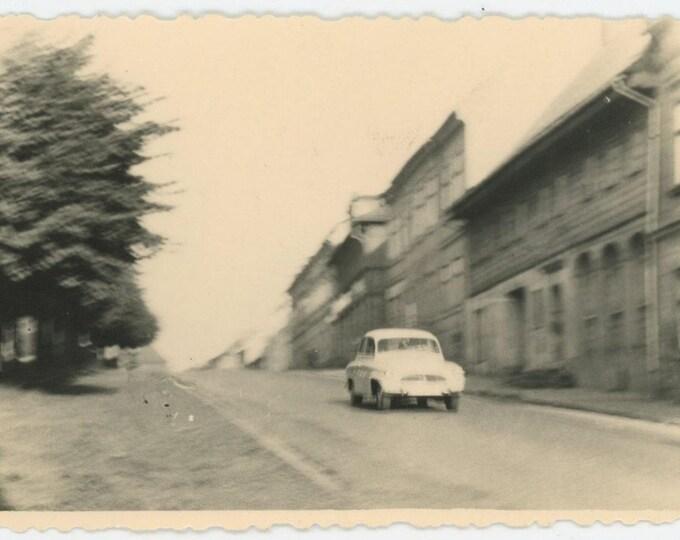 Vintage Snapshot Photo: Auto, 1964 (712628)