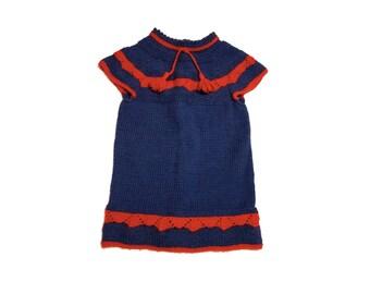 Dress knitting baby hanging
