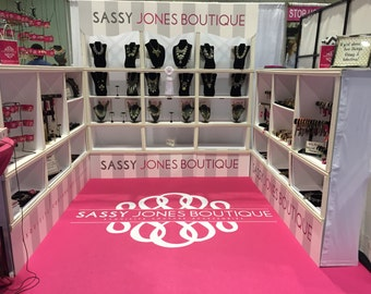 Jewelry Show Display - Jewelry Retail Display - Trade Show Display - Retail Show Display - Craft Fair Booth - Craft Show Booth