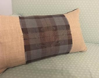 Genuine Lallybroch Tartan Cushion