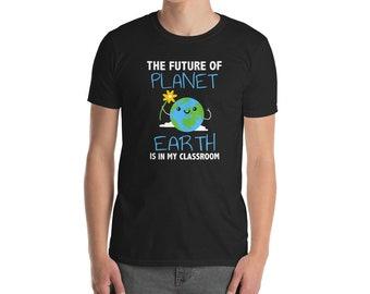 Environmentalist Gift - Earth Day Shirt - Planet Earth - Environmental - Teacher Shirt - Elementary Science - Future Generation - Sustainabi