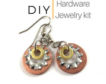 Jewelry Kit Mixed Metal Hardware Jewelry