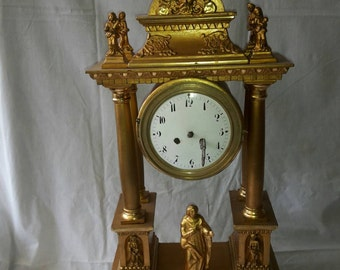 Wooden france clock