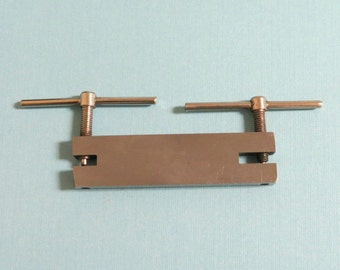 TWO Hole Punch - 1.5mm & 2mm - Screw Hole Punch - will go through up to 16 GAUGE