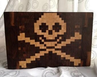 Pirate End-Grain Cutting Board