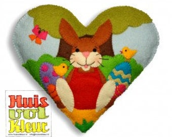 The Heart Of Easter Bunny