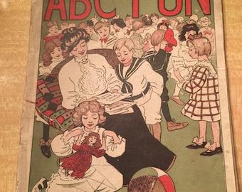 1905 ABC Fun Children's Book