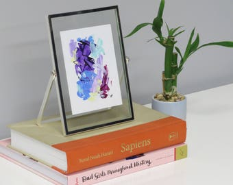 "Framed Original Acrylic Painting 5""x 7"""