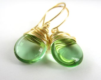 august earrings house peridot misayo stone lg