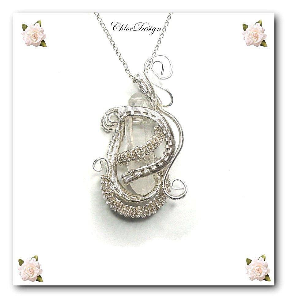 diy pdf tutorial Wire Wrapping Jewelry Pendant Treasure,crystal ...