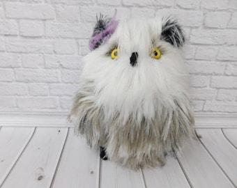 Stuffed Owl Polar Owl Knitted Owl