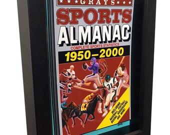 Back to the Future Print Grays Sports Almanac 3D Art