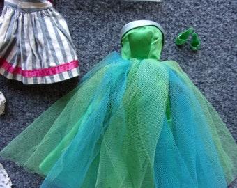vintage barbie gown lot #2