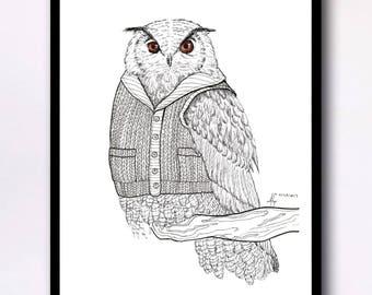Watched - Digital Art Print