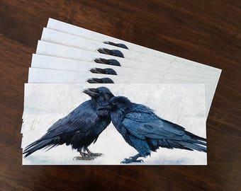 Raven Postcard Set of 6