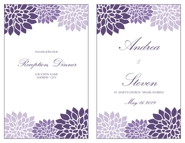 Nett Hochzeitsprogramm Vorlage Herunterladen Fotos - Beispiel ...