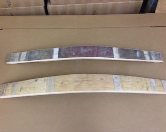 Wine Barrel Staves ( includes 3 Staves)