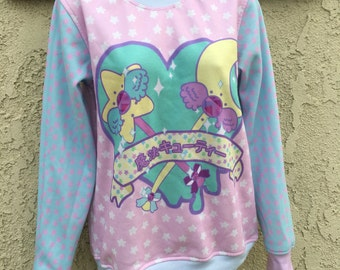 Magical Cutie Sweater, Magical Girl Sweater, Magical Boy Sweater, Kawaii Sweater, Pastel Sweater