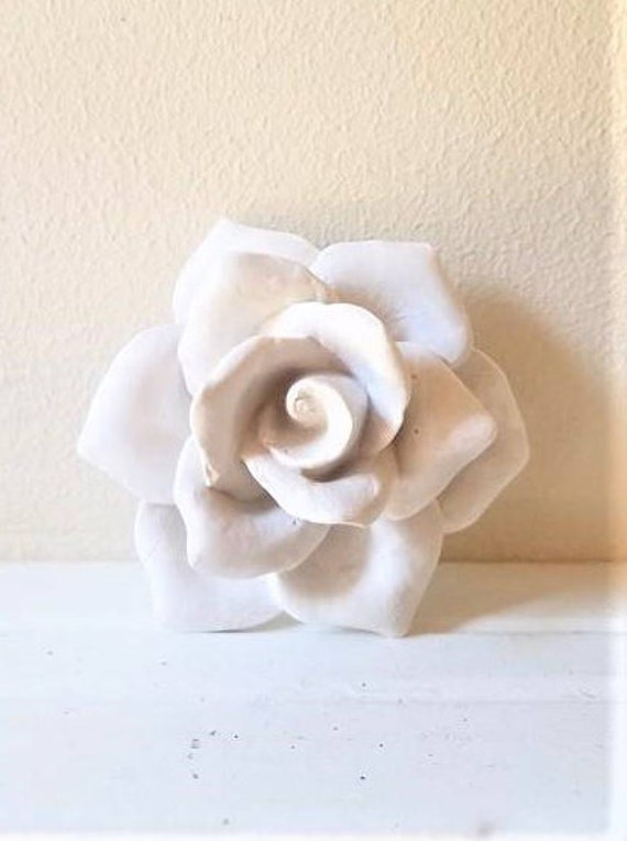 Mothers day roses, wall hanging Rose sculpture, rose bud, clustered wall flowers, stone flower, rose sculpture, modern floral decor