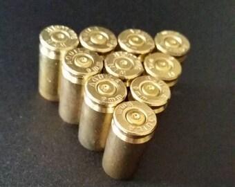 Set of 25 9mm Spent Bullet Shell Casings