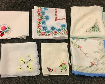 50s Hankie Collection