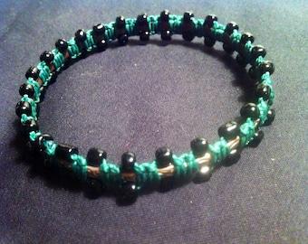 Woven bracelet - tree-