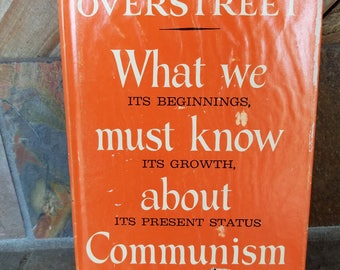 What We Must Know About Communism  Its Beginnings, Its Growth, Its Present Status By Harry and Bonaro Overstreet