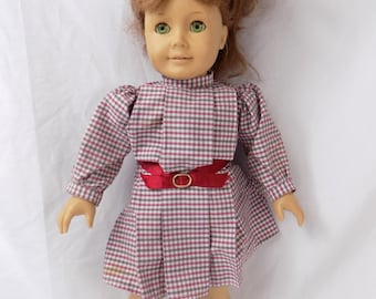 "Vintage Pleasant Company American Girl Felicity Merriman Doll 18"" w Dress"