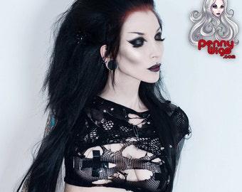 PennyWigs Deathrock Half Wig