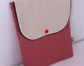 Protective padded Tablet fabric Japanese