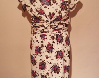 Late 1950s Tricel dress