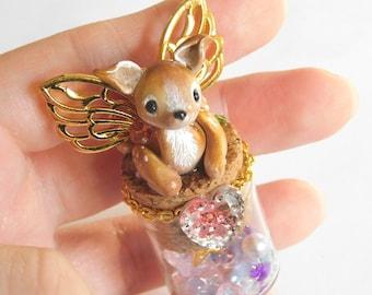 Magical Mini Deer Bottle
