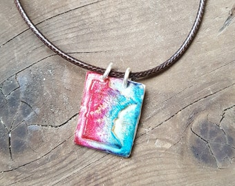 State of Minnesota Polymer Clay Pendant