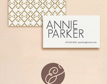 DIY Business Card - Parker - INSTANT DOWNLOAD