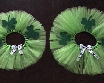 St.Patricks Day Matching Tutus