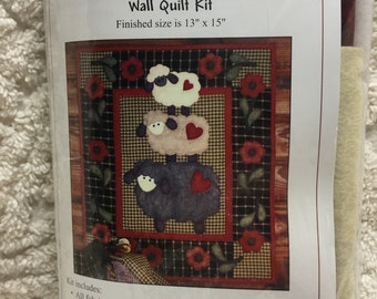 Sweet Wooly Sheep Wall Quilt Kit