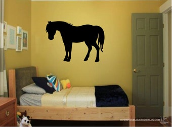 Pony Wall Decal