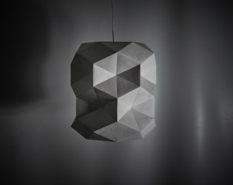 DRUM LAMP KIT - Build your own Geometric Low-Poly Lampshade