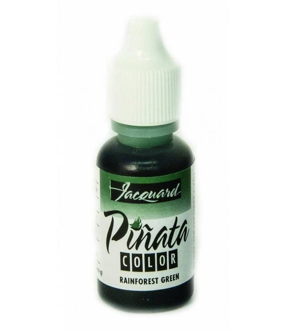 Rainforest Green Jacquard Pinata Alcohol Ink alcohol based high vibrancy transparent colors. Perfect for polymer clay & more